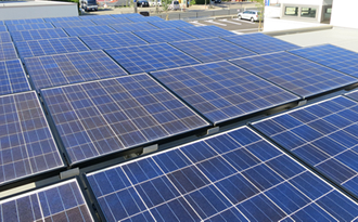 太陽光発電写真